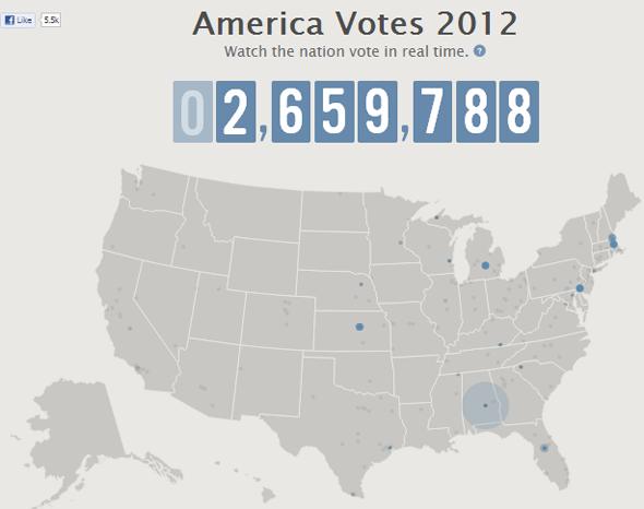 facebook mappa voto