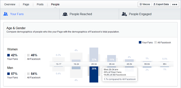 facebook insights your fans
