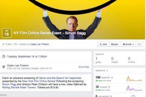 Facebook aggiunge le statistiche agli eventi