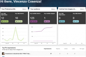 Guida al nuovo Pinterest Analytics – parte prima
