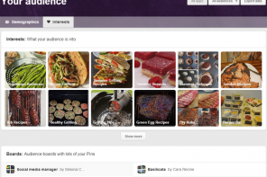Guida al nuovo Pinterest Analytics – parte seconda