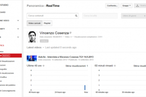 YouTube Analytics ora in tempo reale