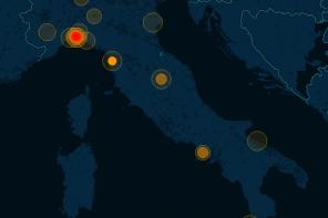Allerta meteo: analisi e mappatura dei segnali da Twitter