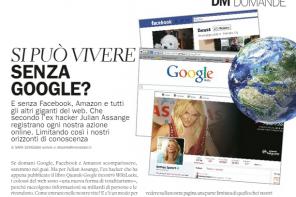 Mia opinione su Donna Moderna: si può vivere senza Google?