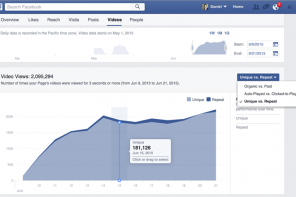 Facebook Insights: nuova sezione Video