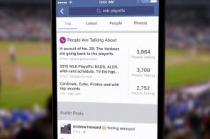 Facebook apre la ricerca ai post pubblici