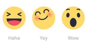 Non solo like: ecco Facebook Reactions