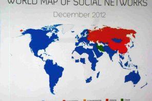 La mappa dei social network in mostra al Mundaneum