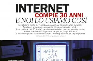 Intervista per Donna Moderna su come usiamo Internet