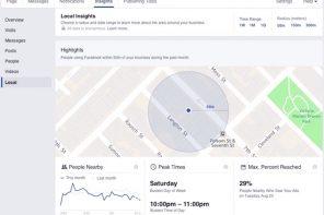 Facebook Local Awareness: la pubblicità per portare le persone nel negozio