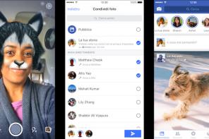 Facebook si aggiorna con le Storie e la nuova Fotocamera