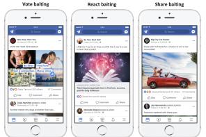 Facebook: l'algoritmo penalizza i post acchiappa interazioni