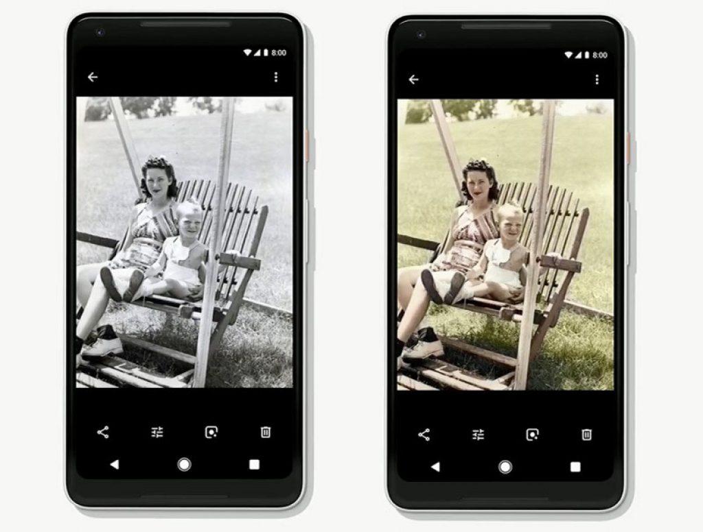 colorizzazione google foto