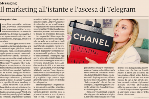Marketing via IM: intervista al Sole 24 Ore