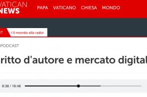 Riforma copyright – Intervista a Radio Vaticana