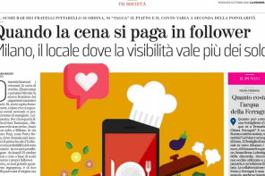 Il valore dei follower: intervista su La Stampa