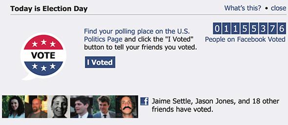 FB social vote
