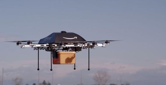 Amazon userà i droni per le consegne