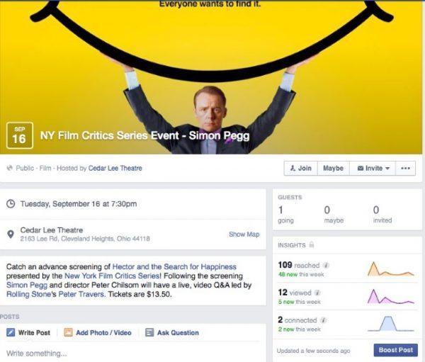 facebook eventi insights