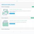 atlas home interface