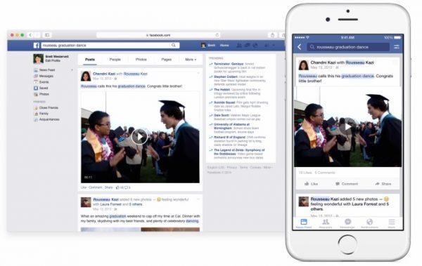 Facebook search keywords