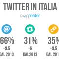 uso di twitter nel 2014