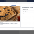 facebook video insights nuovi