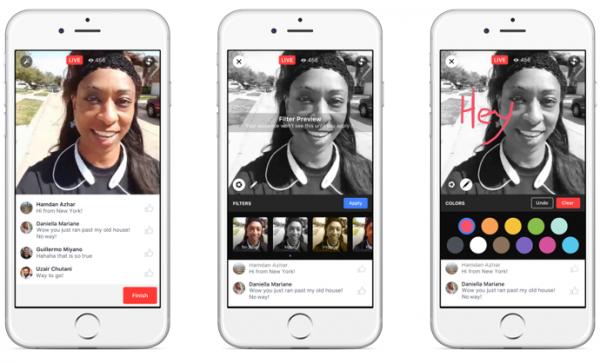 facebook live creative tools