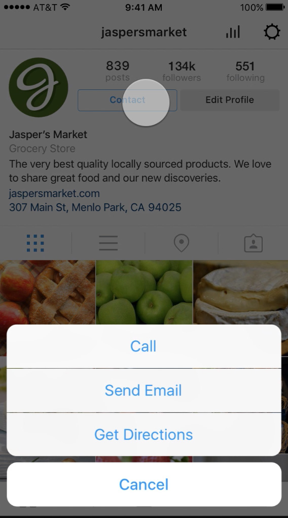 instagram profili aziendali