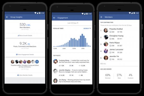 facebook insights gruppi