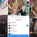 instagram live con amici