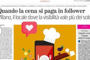 Il valore dei follower: intervista su La Stampa