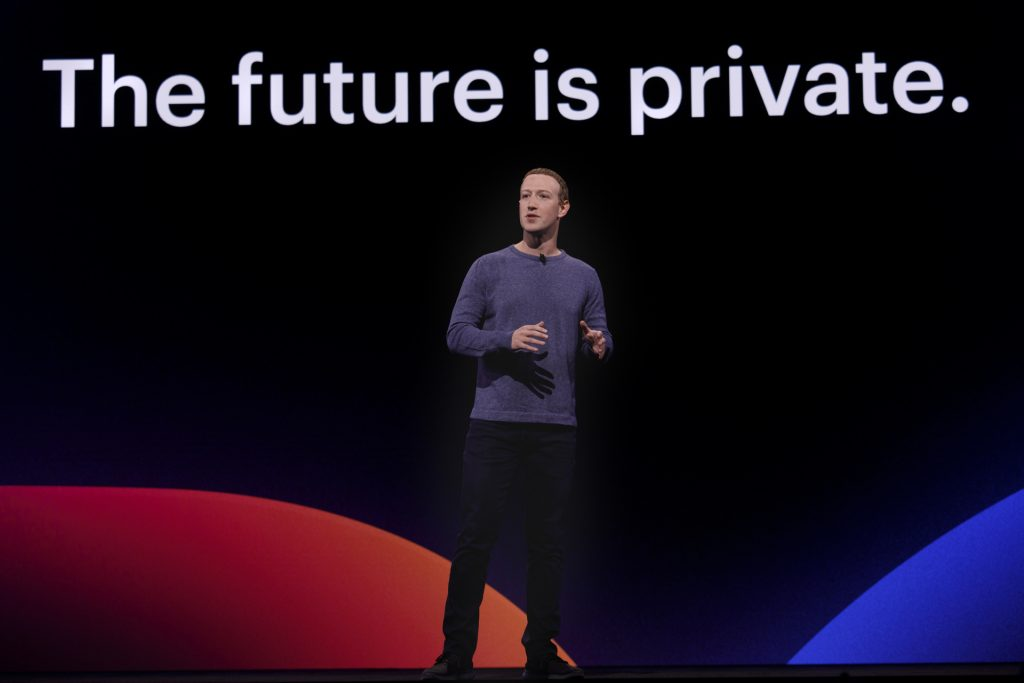 zuckerberg future is private