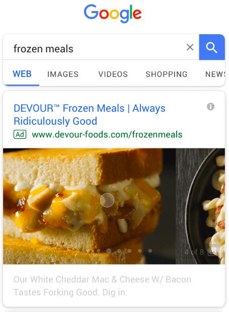 google gallery ads