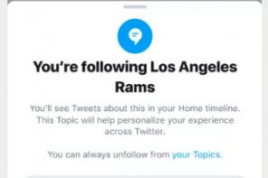 Twitter lancia Topics e diventa un network d'interessi