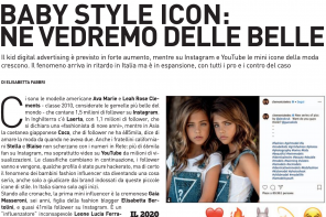 Baby Influencer: intervista per Fashion Magazine
