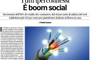Tutti iperconnessi: intervista al Corriere del Mezzogiorno Economia