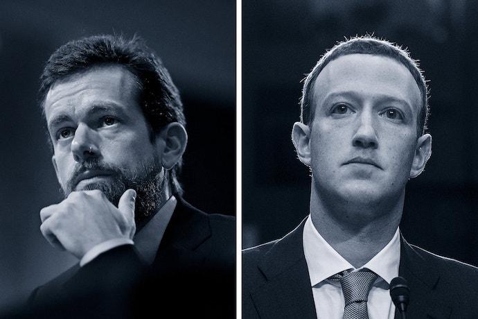 jack dorsey contro zuckerberg