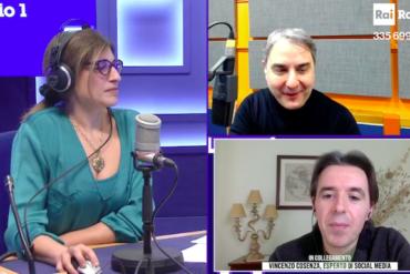 I trend social: intervista a Rai Radio 1