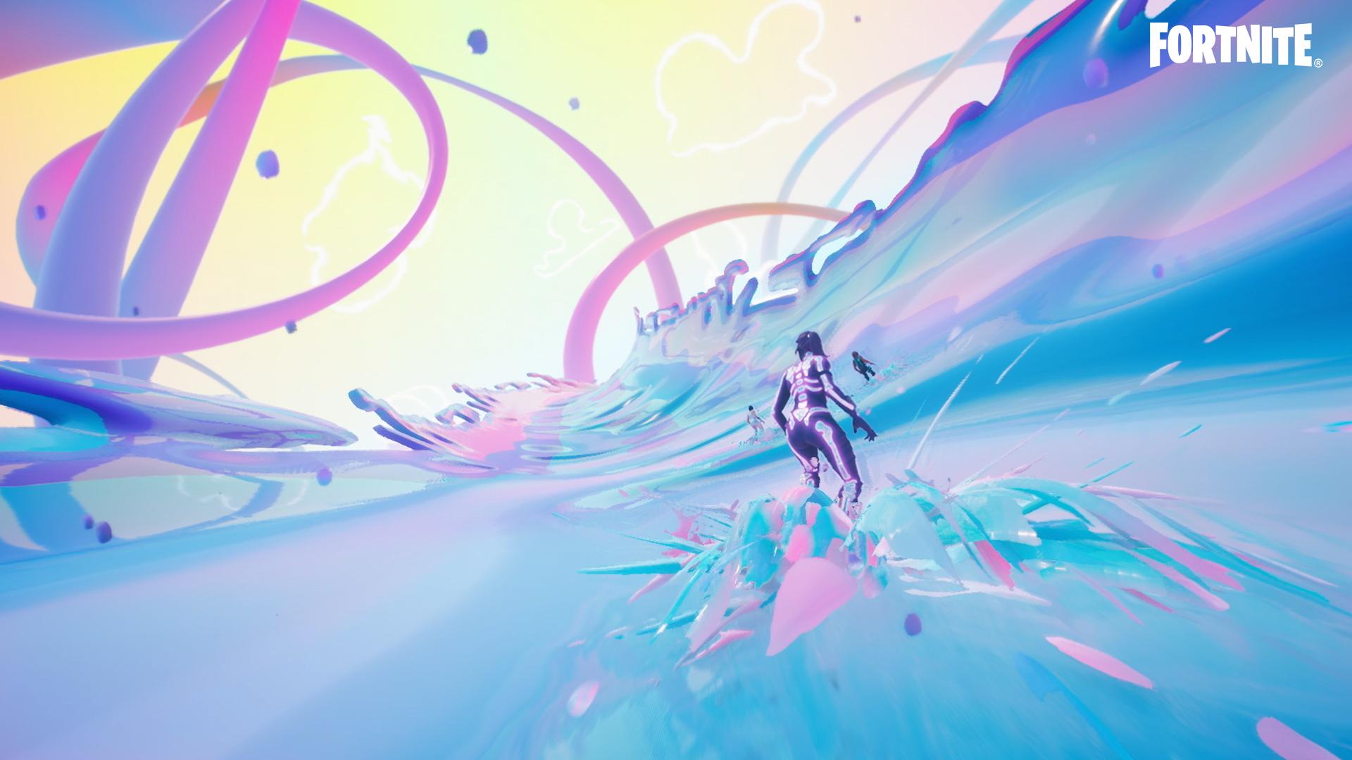 ariana grande fortnite surf